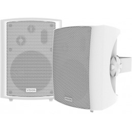 VISION SP-1800 Enceintes HiFi - Haut-parleurs 50W Blanc