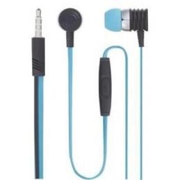 KEYOUEST Ecouteur urban Noir / Bleu Filaire Jack 3.5mm