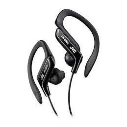 JVC HA-EB75 Noir Ecouteurs intra Auriculaire Tour d'oreille reglable - Sport