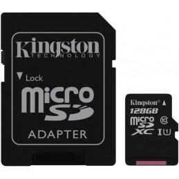 KINGSTON 128GB Canvas Select microSDXC (microSD) + Adapter SD