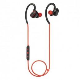 KEYOUEST Ecouteur intra-auriculaire bluetooth Rouge/Noir - Sport