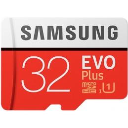 SAMSUNG EVO Plus 32Go - classe 10 - Adaptateur SD inclus