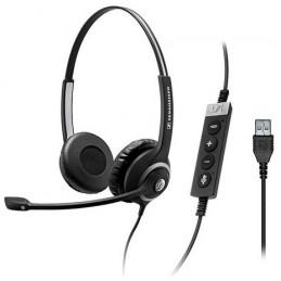 SENNHEISER Circle SC 260 MS II Casque téléphone fixe Noir USB - câble 2.90m