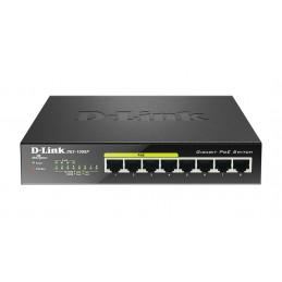 D-LINK DGS-1008P SWITCH RESEAU GIGABIT 8 Ports 10/100/1000Mbps (4 POE)