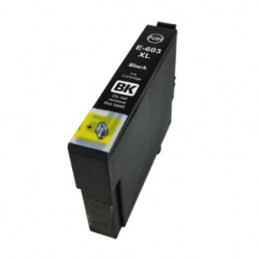 CR-T603XLBK COMPATIBLE EPSON T603XLBK NOIR NO-OEM 603XL CARTOUCHE JET D'ENCRE