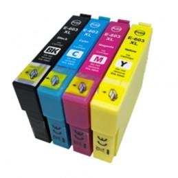CR-T603XLPACK COMPATIBLE EPSON T603XL PACK BK/BK/C/M/Y NO-OEM 603XL CARTOUCHE JET D'ENCRE