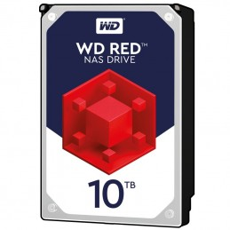"WESTERN DIGITAL 10To WD RED 3.5"" SATA3 5400rpm 256Mo - WD100EFAX"