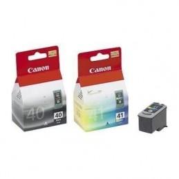 CANON PG-40/CL41 Pack Noir + Couleur pour PiXMA iP1800, iP2600, MP180, MX310 ...