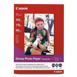 CANON 0775B001 Papier photo Glacé 210g/m2 - GP-501 - A4 - 100 feuilles