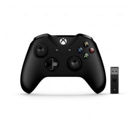 MICROSOFT Manette Xbox One Noir + Adaptateur Sans Fil pour Windows 10