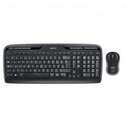 LOGITECH MK330 Pack clavier-souris sans fil Noir - vue de dessus