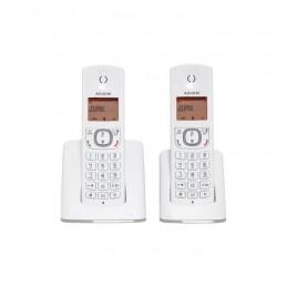 ALCATEL F530 duo gris Téléphone sans fil DECT sans repondeur - vue de face