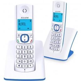 ALCATEL F530 Duo Bleu TÉLÉPHONE SANS FIL Sans répondeur