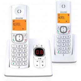 ALCATEL F530 Duo Gris TÉLÉPHONE SANS FIL avec Répondeur
