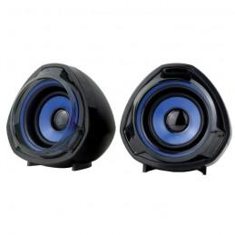 BERSERKER GAMING HATI Haut-parleurs Bleu / Noir - USB - Jack 3.5 mm