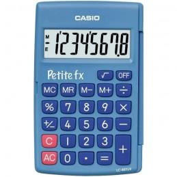CASIO LC-401LV-BU Petite FX bleue - Calculatrice adapté au primaire