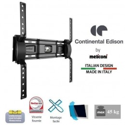 CONTINENTAL EDISON Support TV mural inclinable pour TV 40-65'' VESA 400*400