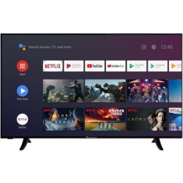 "CONTINENTAL EDISON CELED55SA20B3 TV LED 4K UHD - 55"" (139cm) - Smart TV -WiFi - Bluetooth - Android - HDMIx4 - USBx2 - face"