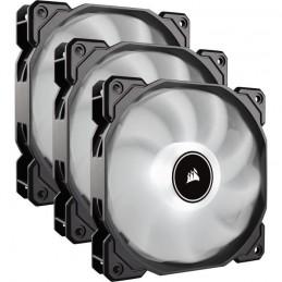 CORSAIR Air Series AF120 Low Noise 120 mm Blanc Pack de 3 ventilateur Boitier PC - (CO-9050082-WW)