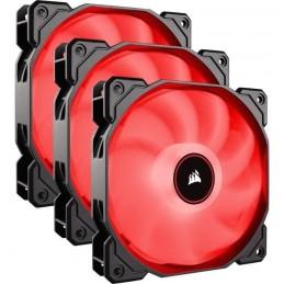 CORSAIR Air Series AF120 Low Noise Pac de 3 Ventilateur boitier PC 120 mm Rouge (CO-9050083-WW)