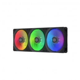 COOLER MASTER MASTERFAN SF360R ARGB - Ventilateur de boitier PC ARGB PWM - 650-1800 RPM - 3x 120mm