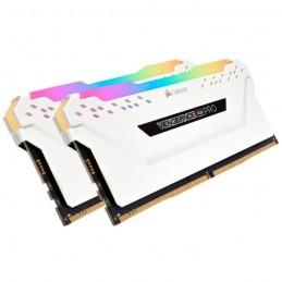 CORSAIR CMWLEKIT2W Kit d'éclairage VENGEANCE RGB PRO Series DDR4 - Blanc - vue de trois quart