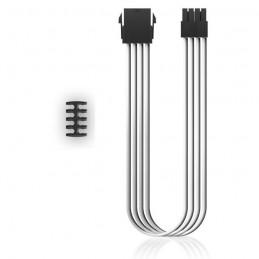DEEPCOOL EC300-CPU8P-WH Rallonge alimentation 30 cm câble interne - Câble d'extension 8 Pins (4+4) CPU