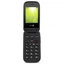 """Doro 2404 Noir Telephone GSM à clapet Ecran 2.4"""" - blister"""