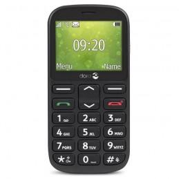 """DORO 1360 Noir GSM Ecran 2.4"""" - blister - vue de face"""