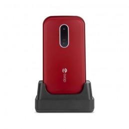 DORO 6620 ROUGE TÉLÉPHONE MOBILE GSM Clapet écran 320 x 240 p - 3Mp avec support de charge