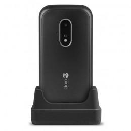 DORO 7030 Noir GSM 4G LTE - microSD slot - 320 x 240 pixels - 3 MP - vue en charge