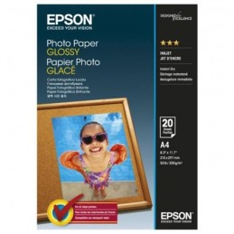 EPSON S042538 Papier photo brillant - 200g/m2 - A4 - 20 feuilles