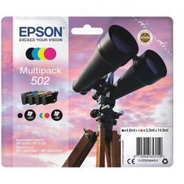 EPSON 502 Multipack cartouches Jumelles BK/C/M/Y - NCMJ 502