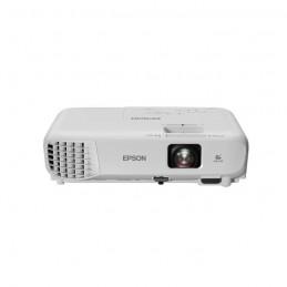 EPSON EB-S05 Vidéoprojecteur 3LCD - SVGA 800x600 - 3200 Lumens - Haut-parleur intégré - Blanc - vue de face