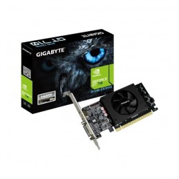 GIGABYTE GT 710 2Go Carte Graphique Nvidia DVI/HDMI (GV-N710D5-2G) - vue emballage