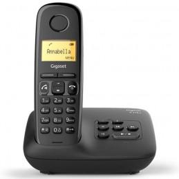 GIGASET A270 A Solo Noir Téléphone DECT avec répondeur - vue de face