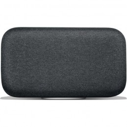 GOOGLE Home Max Noir - WiFi Bluetooth USB - Assistant - Haut-Parleur intelligent - vue de face