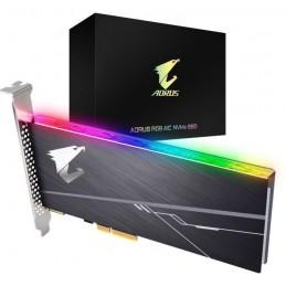 GIGABYTE 512Go SSD Aorus RGB - Format PCI Express (GP-ASACNE2512GTTDR)