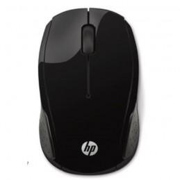HP 200 X6W31AA Noir Souris sans fil 2.4 GHz optique