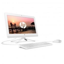 """HP PC Tout-en-un 20-c438nf - 19.5"""" FHD UWVA - AMD A4-9125 - RAM 4 Go - HDD 1 To - AMD Radon R3 - W10 - Blanc - vue de gauche"""