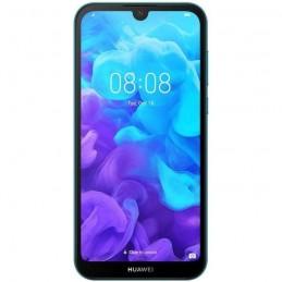 "HUAWEI Y5 2019 Sapphire Blue Smartphone 5.71"" 16 Go 13 Mp - Android 9.0 Pie - vue de face"