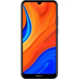 "HUAWEI Y6S Starry Noir Smartphone 6.09"" 32 Go 13 Mp - Android 9.0 Pie - vue de face"