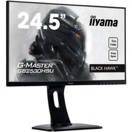 "IIYAMA G-Master Black Hawk GB2530HSU-B1 Ecran PC 24,5"" FHD Gamer Dalle TN - 1ms - VGA/DisplayPort/HDMI"