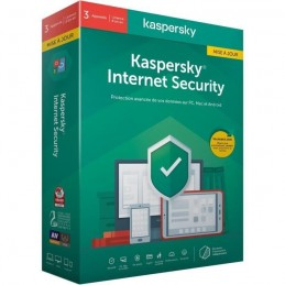 KASPERSKY Internet Security 2020 Mise a jour, 3 postes, 1 an
