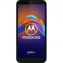"MOTOROLA E6 Play Noir 32 Go Smartphone 5.5"" 13MP 32Go - Android 9.0 Pie - vue de face"