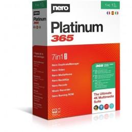 NERO Platinum 365 - 7 applications en 1 suite - licence 1 an