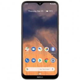 "NOKIA 2.3 Sable Smartphone 6.2"" HD 4G 13 MP - 32 Go - Android 9.0 Pie - vue de face"