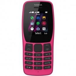 """NOKIA 110 Rose 4 Go Téléphone portable GSM Ecran 1.77"""" couleur - vue de face"""