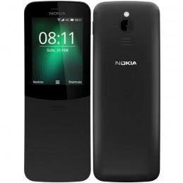 """NOKIA 8110 4G Noir Téléphone GSM Ecran 2.45"""" - WiFi - Bluetooth"""