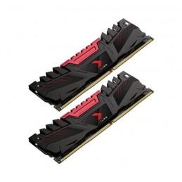 PNY 16Go DDR4 XLR8 2666 (2x8Go) Mémoire PC PC4-21300 CL16 (MD16GK2D4266616XR)